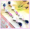 wholesale fashion jewelry china earrings - cz dangle earring