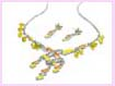 wholesale jewelry china supplier - Designer earring necklace set fashion accessory