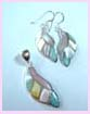 Wholesale import jewelry - pearlesque earrings and necklace charm fashion accessories