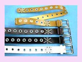 Assorted color fashion leather belt