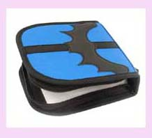 china manufacturers CD holder - blue and black fashion decorative cd holder