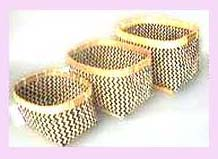 China Import - Stackable rectangle chinese bamboo basket