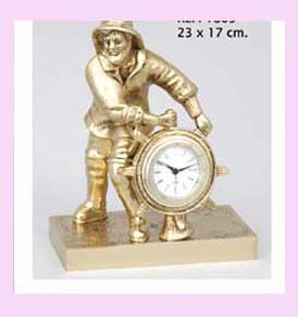 china major import export clock - ship captain collectible clock