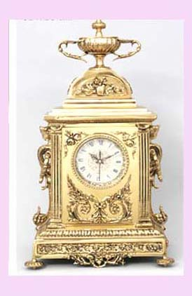 export from china clock - collectible china import mantel clock