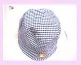 china wholesale fashion - blue checkered fashion hat