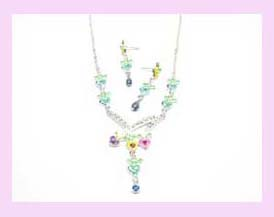 jewelry wholesaler in china - fashion design wholesale necklace and earring set