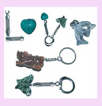 fun giftware promotiona items - keychains available in various shapes colors and sizes