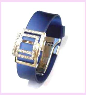 wholesale jewelry watches supply - blue and silver watch band available